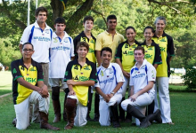 Mixed team shot june 2012 - inter-school friendly